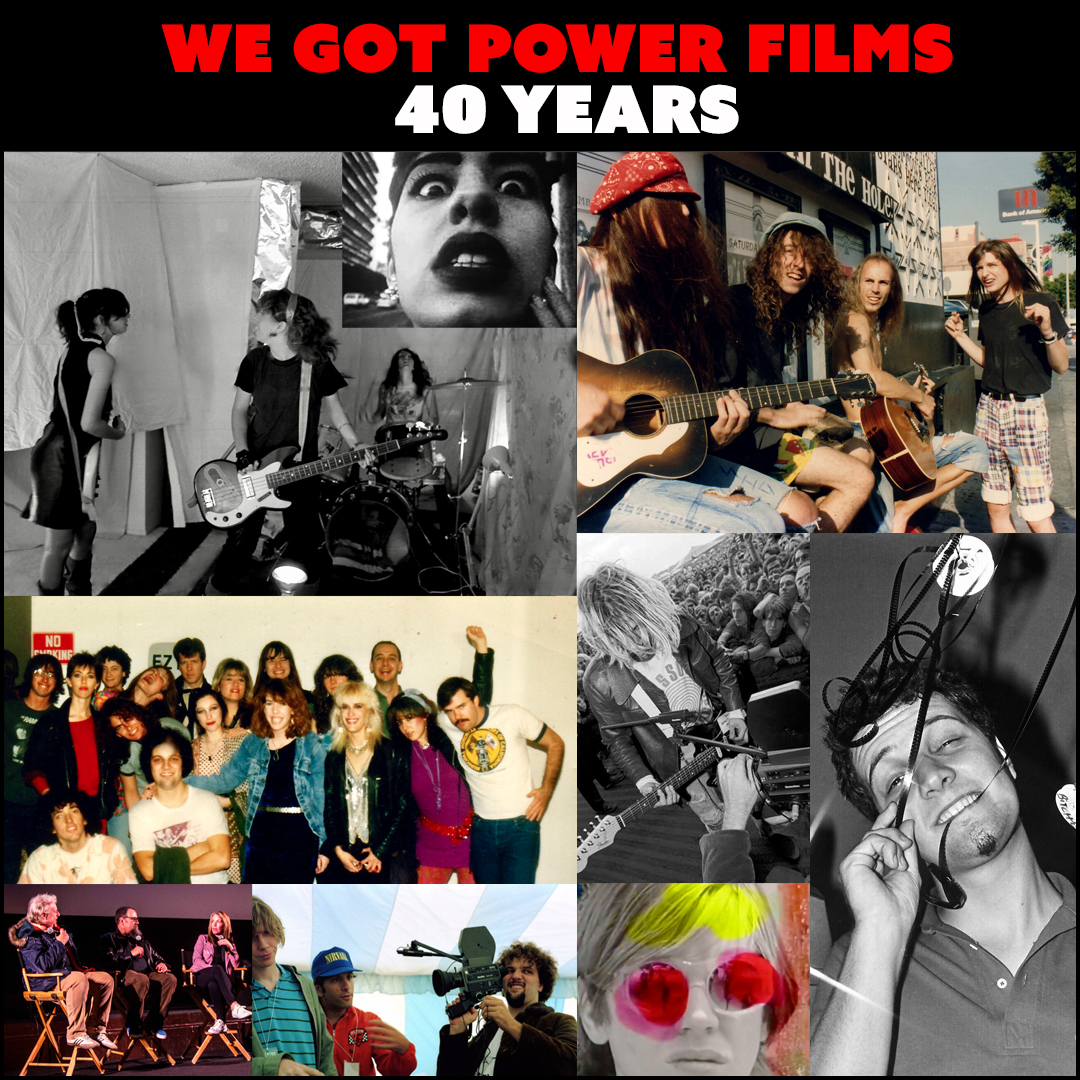 We Got Power Films - 40 Years