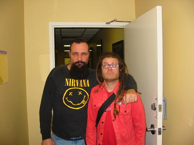 David Markey and Keith Morris 2003
