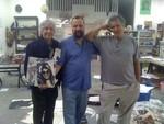 Lee Ranaldo, David Markey, Raymond Pettibon, Venice CA 2010