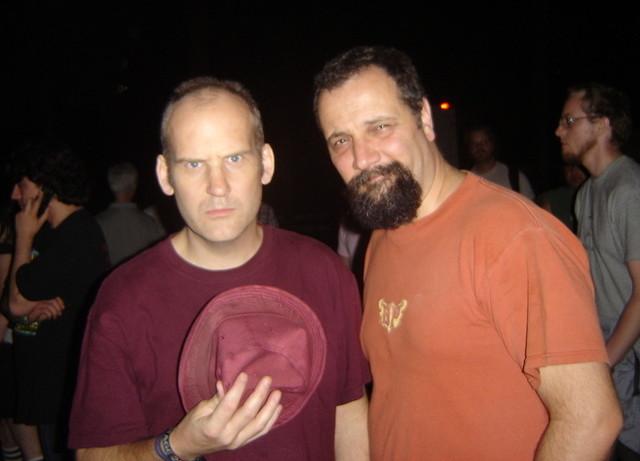 Ian Mackaye and David Markey 2007