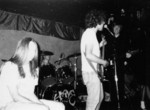 Tusk - The Pyramid NYC 1989 (L to R: Steve Doughton, John Press, Dave Markey, Thurston Moore)  Photo by Dave Wallin Eddy