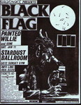 Black Flag, Painted Willie, & Gone - January 11, 1986