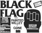 Black Flag, Painted Willie, & Gone - January 17. 1986