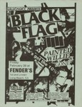 Black Flag, Painted Willie, & Gone - Feburary 20, 1986