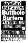 butthole surfers, painted willie, & grey march - baltimore '87