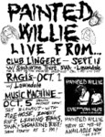 Painted Willie, Saccharine Trust, SWA, Lawndale, Firehose, Leaving Trains, & Zoogst Rift - Fall 1986