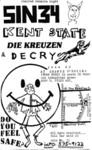 Sin 34, Kent State, Die Kreuzen, & Decry - June 22 1983