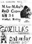 Mau-Maus, Red Cross, Sin 34, & Moral Decay - Feburary 20 1982
