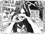 Circle Jerks, Social Distortion, Sin 34, Panty Shields, Mood Of Defiance - December 23, 1982