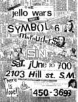 Symbol 6, The Marauders, & Sin 34 - June 20 1981