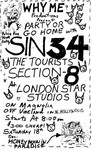 Sin 34, The Tourists, Section 8 - December 18, 1983