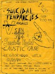 Suicidal Tendencies, The Vandals, Sin 34, Section 8, Neighborhood Watch & Caustic Cause - December 20, 1982