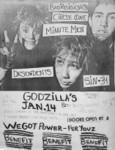 Sin 34, Descendents, Minutemen, Circle One, & Bad Religion - Jan 14, 1982