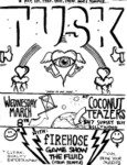 Tusk, Firehose, Game Show, & The Fluid - March 18, 1989