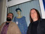 dave & dale w/ blue haired friend