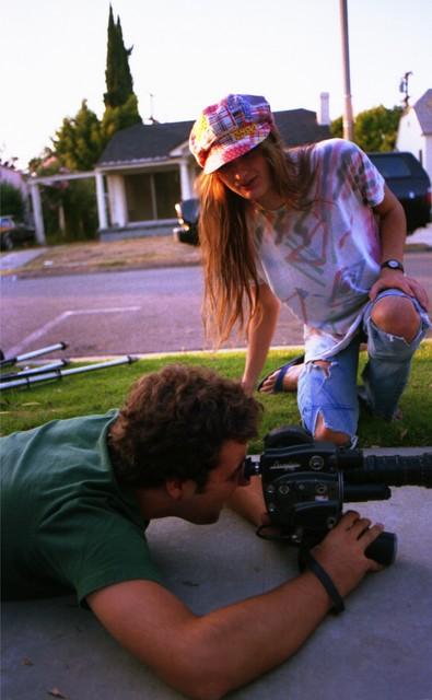 Steve McDonald w/ Dave Markey shooting