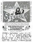 Desperate Teenage Lovedolls & Lovedolls Superstar double header, EZTV West Hollywood 11-14 and 11-15-86