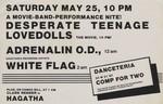 NYC, Danceteria 1985