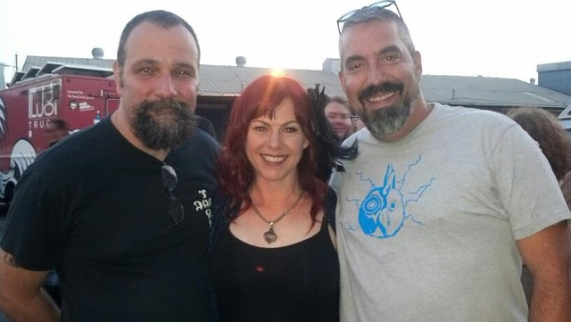 Dave with Sandy Glaze and Bob Major
