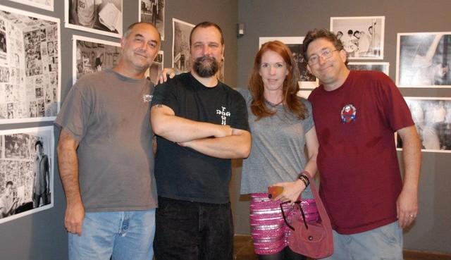 We Got Power crew Alan, Dave, Jennifer Schwartz, & Jordan
